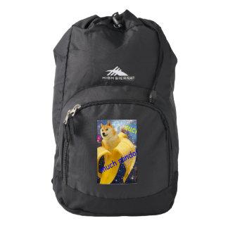 banana   - doge - shibe - space - wow doge backpack