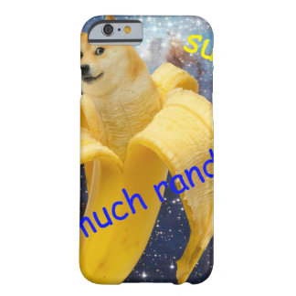 banana   - doge - shibe - space - wow doge barely there iPhone 6 case