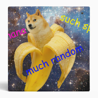 banana   - doge - shibe - space - wow doge binder