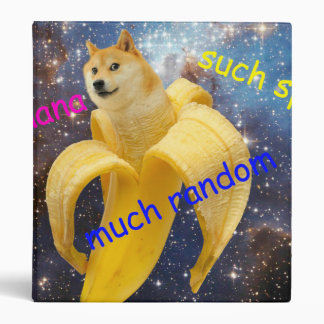 banana   - doge - shibe - space - wow doge binders