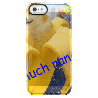 banana   - doge - shibe - space - wow doge clear iPhone SE/5/5s case