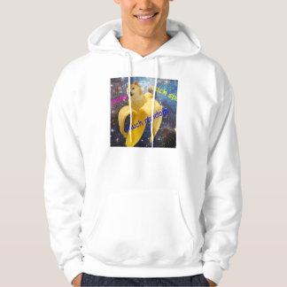 banana   - doge - shibe - space - wow doge hoodie