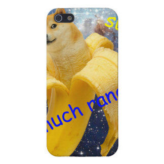 banana   - doge - shibe - space - wow doge iPhone 5 case