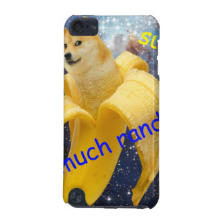 banana   - doge - shibe - space - wow doge iPod touch (5th generation) cover