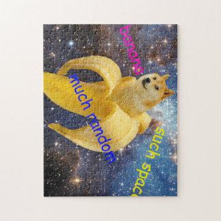 banana   - doge - shibe - space - wow doge jigsaw puzzle