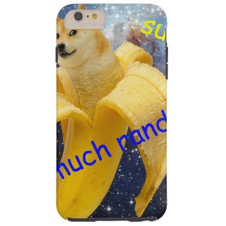 banana   - doge - shibe - space - wow doge tough iPhone 6 plus case
