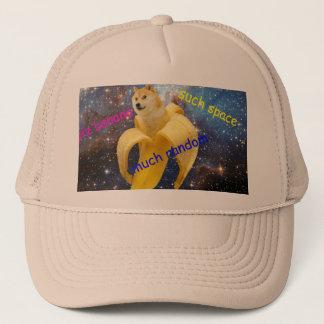 banana   - doge - shibe - space - wow doge trucker hat