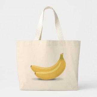 Banana Drawing Large Tote Bag