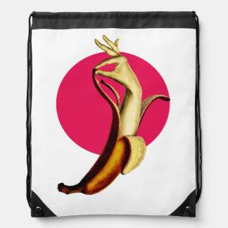 Banana Drawstring Bags