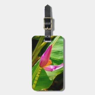 Banana Flower, Limahuli Gardens, Kauai, Hawaii Luggage Tag