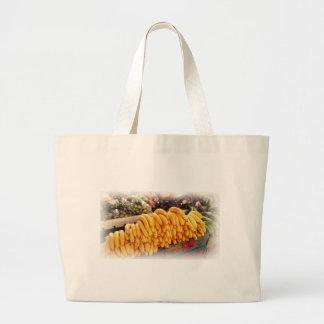 Banana Fruit Design by Admiro Canvas Bags