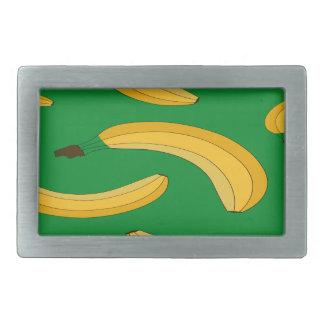 Banana fruit pattern rectangular belt buckles