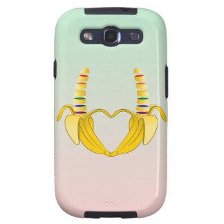 Banana Gay Pride Freedom Heart Galaxy SIII Cover