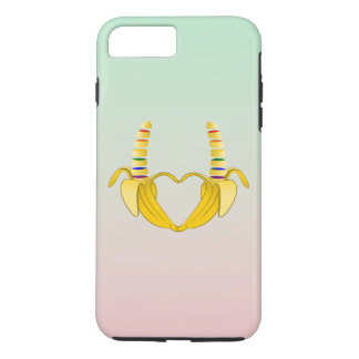 Banana Gay Pride Freedom Heart iPhone 7 Plus Case