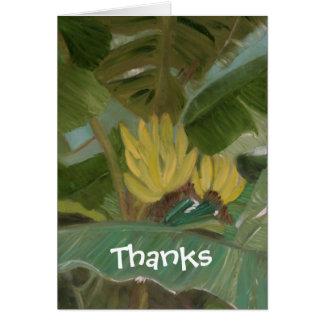 """""""Banana Grove"""" Card"""