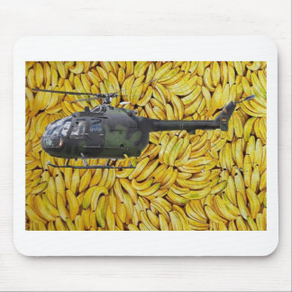 BANANA HELICOPTER MOUSE MAT