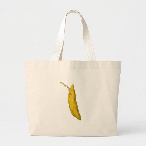 banana juice tote bag