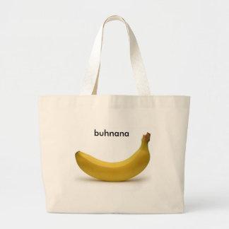 banana jumbo tote bag