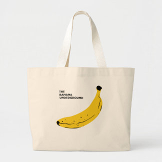 Banana Large Tote Bag