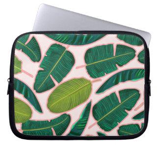 Banana Leaf Blush Laptop Sleeve