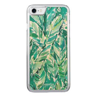 BANANA LEAF JUNGLE Green Tropical Carved iPhone 8/7 Case