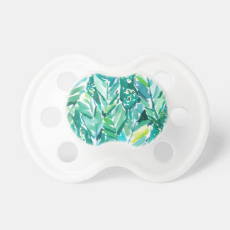 BANANA LEAF JUNGLE Green Tropical Pacifier