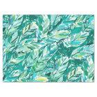 BANANA LEAF JUNGLE Green Tropical Tissue Paper
