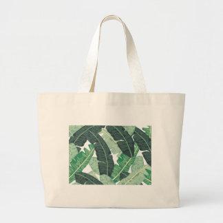 Banana Leaf Large Tote Bag