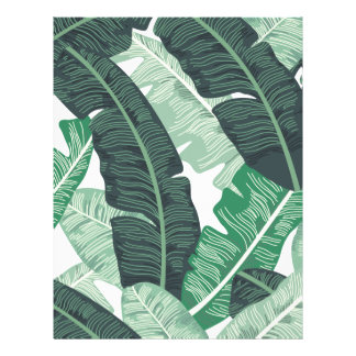 Banana Leaf Letterhead