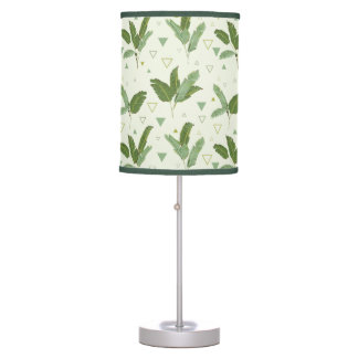Banana Leaf With Triangles Desk Lamps