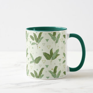 Banana Leaf With Triangles Mug