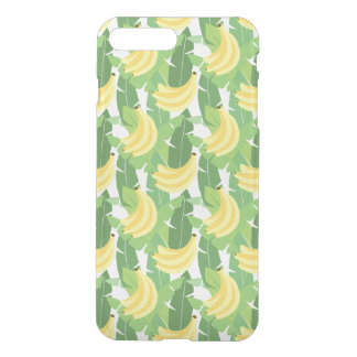 Banana Leaves And Fruit Pattern iPhone 7 Plus Case