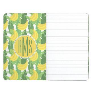 Banana Leaves And Fruit Pattern | Monogram Journal