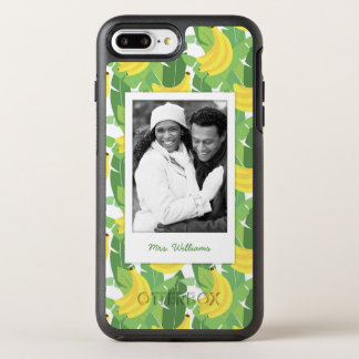 Banana Leaves & Fruit   Add Your Photo & Name OtterBox Symmetry iPhone 7 Plus Case