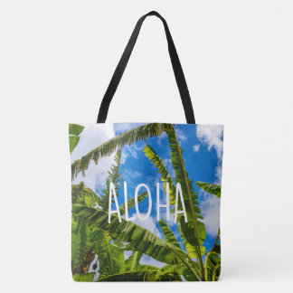Banana Leaves, Grove Farm Hawaiian Aloha Beach Bag