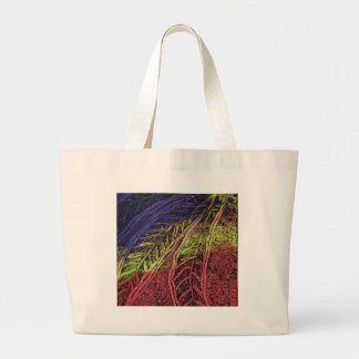 Banana Leaves Large Tote Bag