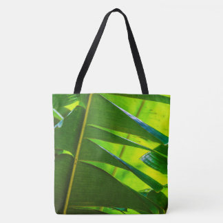 Banana Leaves, McBryde Garden, Hawaiian Beach Bag