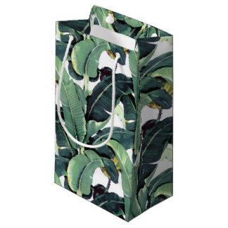 Banana Leaves Palm Tree Tropical Small Gift Bag