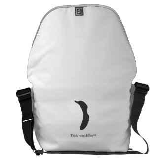banana logo messenger bag