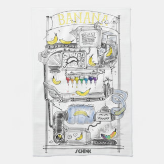 Banana Machine Kitchen Towel