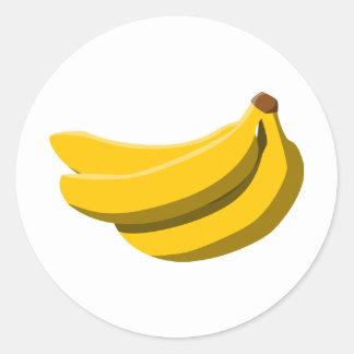Banana Madness! Classic Round Sticker