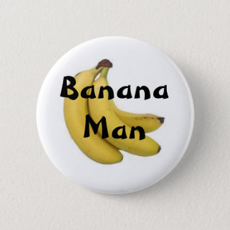Banana Man Button