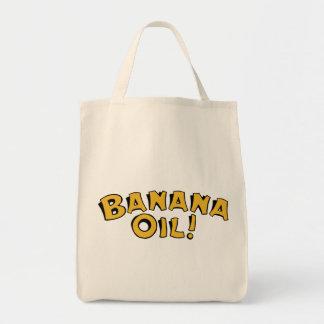 Banana Oil Grocery Tote Bag