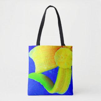Banana on Blue Market Bag