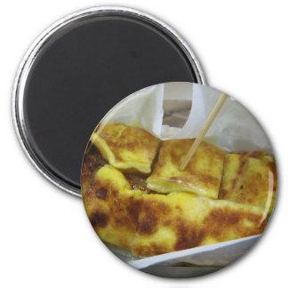 Banana Pancake [Roti Kluai Khai] 2 Inch Round Magnet