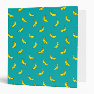 Banana Pattern 3-Ring Binder