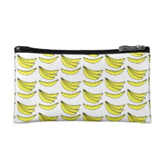 Banana Pattern. Cosmetic Bag
