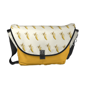Banana Pattern - Custom Messenger Bag (Light)