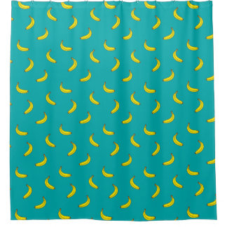 Banana Pattern Shower Curtain