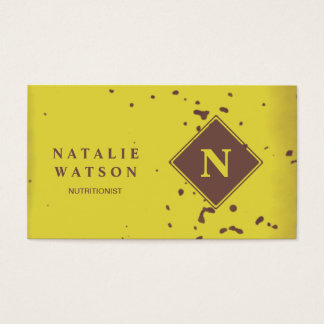 Banana Peel Business Card